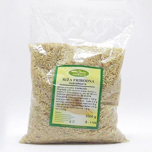 Riža prirodna dugo zrno