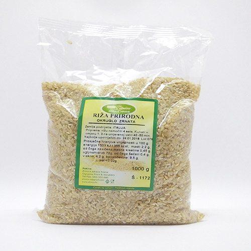 Riža integralna okruglo zrno