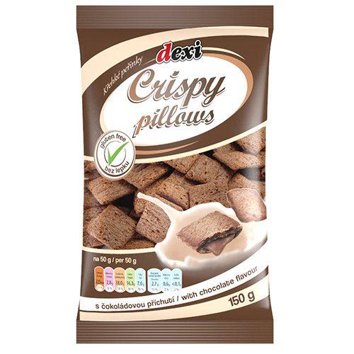 Hrskavi jastučići- punjeni čokoladom