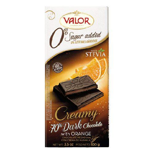 Tamna čokolada sa narančom bez šećera