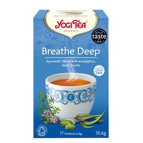 Yogi čaj Duboko diši