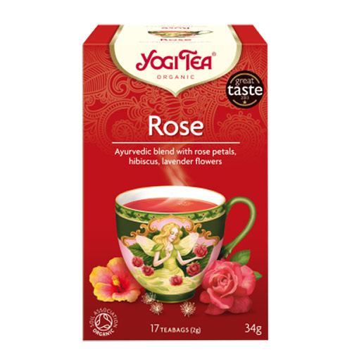 Yogi čaj Ruža