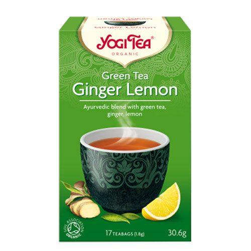 Yogi čaj Zeleni-Đumbir-Limun