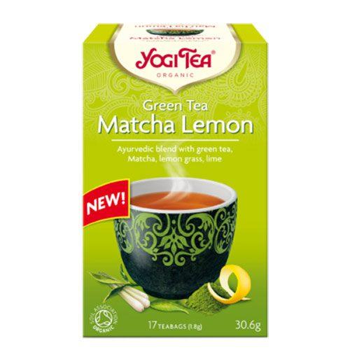 Yogi čaj Zeleni-Matcha-Limun