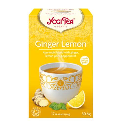 Yogi čaj Đumbir-Limun