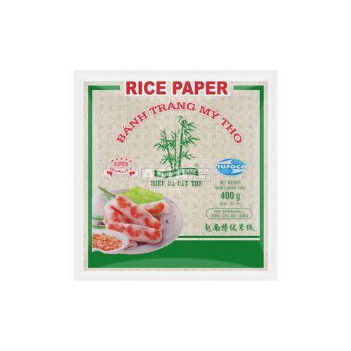 Rižin papir za prženje okrugli 22 cm BAMBOO tree