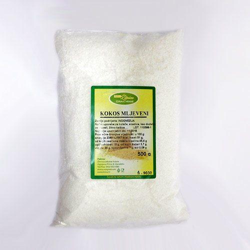 Kokos mljeveni